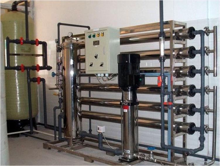 厂家定制3吨工厂产去离子纯水设备 反渗透净化系统 工厂直发