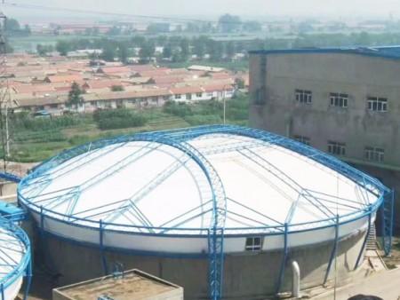 膜结构污水池加盖施工-河北膜结构污水池加盖