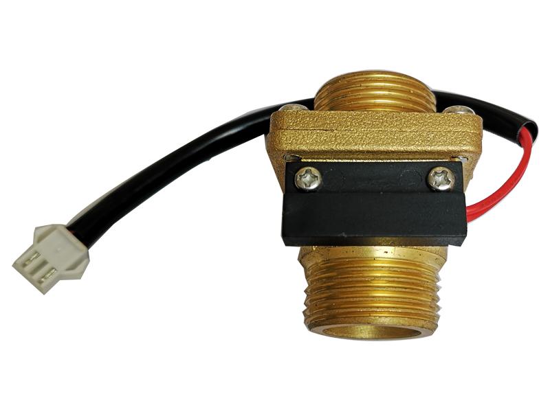 电壁挂炉水动开关水流传感器水流磁性感应开关黄铜水流开关模块