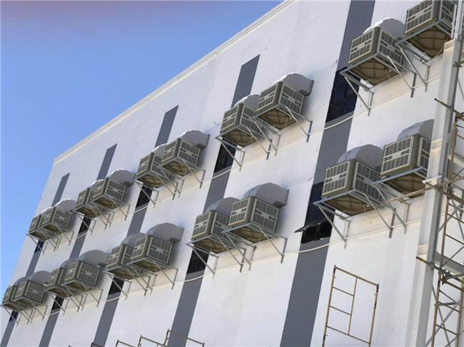 东莞大朗环保空调-水空调配套安装3