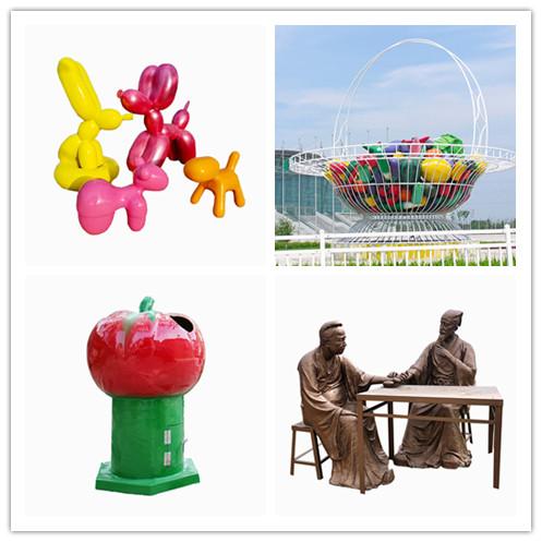 瓜果籃子雕塑報價-雕