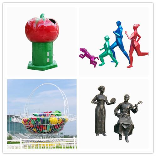 菜篮子雕塑-瓜果篮子雕塑供应-菜篮子雕塑制作