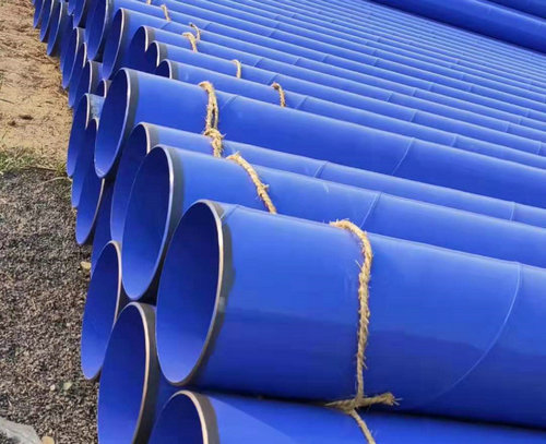 滄州哪里有具有口碑的輸水工程環氧樹脂涂塑鋼管實體廠家