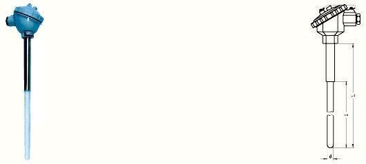 上仪集团铂铑热电偶真材实料|WRP-130高温贵金属热电偶