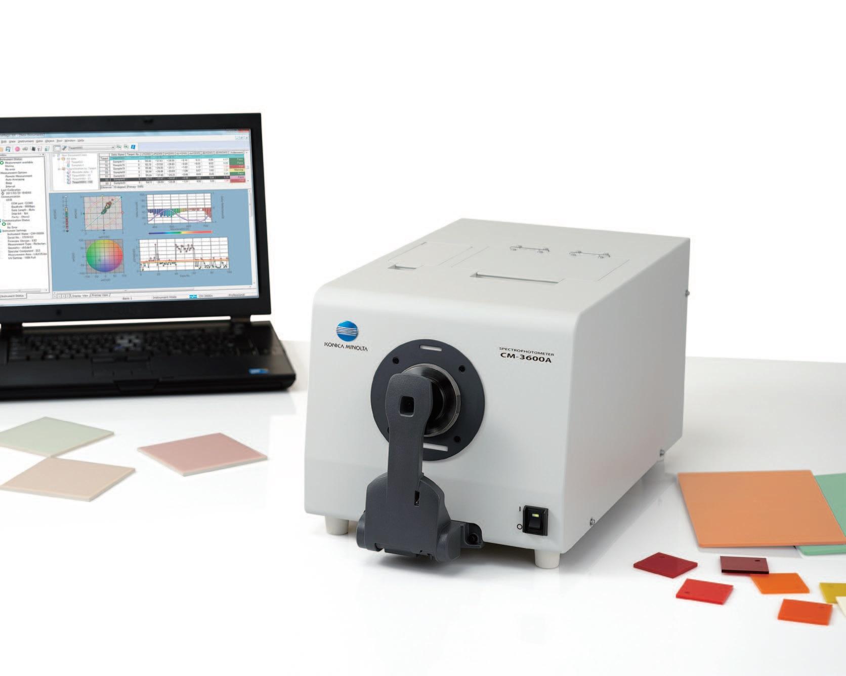 美能達CM-5測色儀-想買劃算的柯尼卡美能達臺式精密測色儀,就來艾比錫科技