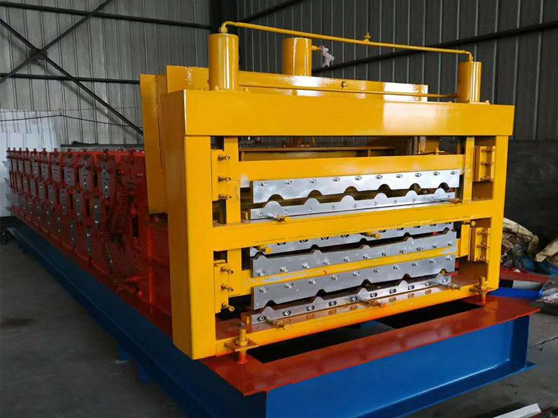 广西宜宾现货销售800-840-900三层琉璃瓦压瓦机