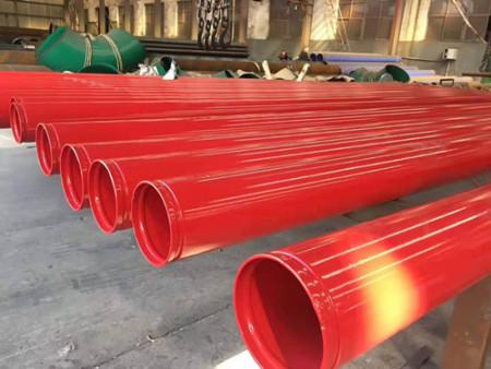 给水内外涂塑钢管_河北优良DN200涂塑钢管供应价格