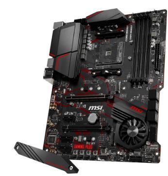 微星MPG X570 GAMING PLUS主板 云南电脑批