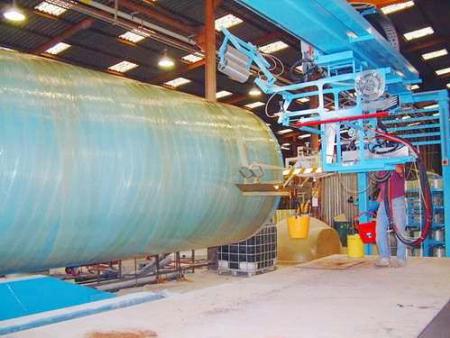 山东玻璃钢夹砂管道缠绕机,玻璃钢夹砂管道缠绕机,一体化泵站缠绕机