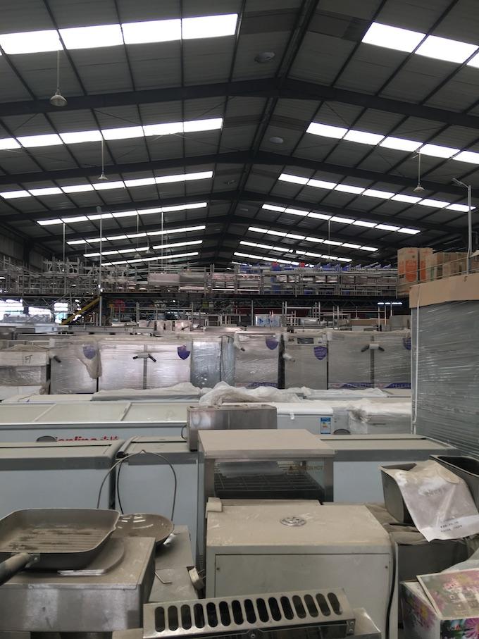 珠海烘焙設備回收-興峻達大型的回收工廠機械設備廠