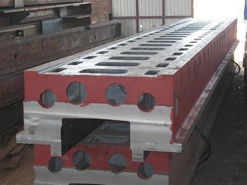 立车床身铸件-加工机床床身铸件供应-加工机床床身铸件供应商