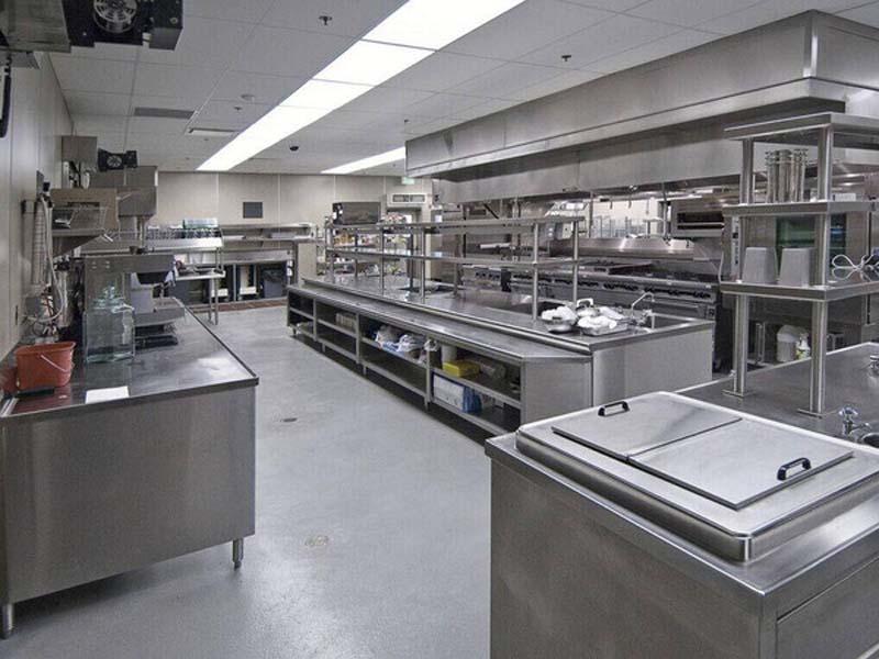 甘肃鸿运不锈钢通风排烟_厨房设备厂商|宁夏厨房设备工程