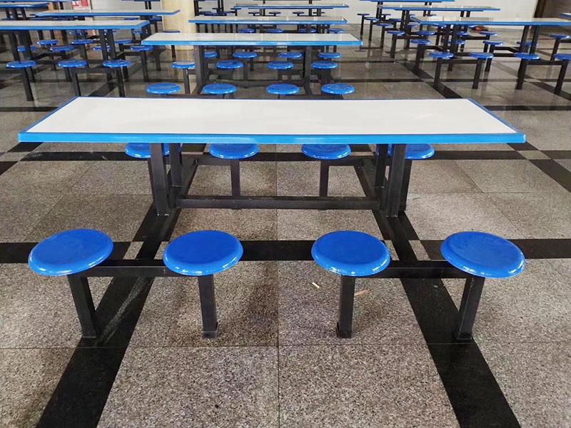 食堂折叠餐茶桌椅组合