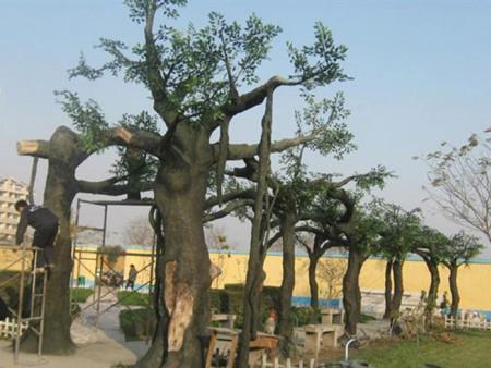 仿真古树供应-潍坊仿真假树批发商-青岛仿真假树批发商