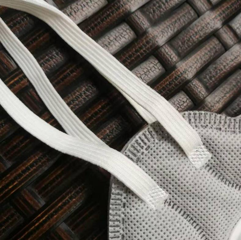 3mm医用专用口罩白色口罩绳针织松紧带-出售东莞优惠的3MM5MMN95口罩绳针织扁松紧带