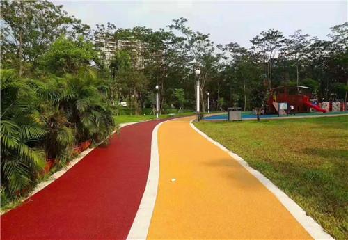 透水路面-彩色透水路面-彩色透水混凝土路面