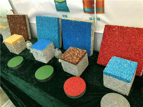 銅川彩色透水混凝土路面-銷量好的透水路面推薦