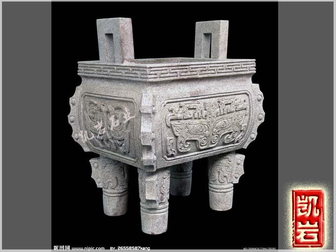 寺庙香炉石雕哪里可以定制-凯岩石业