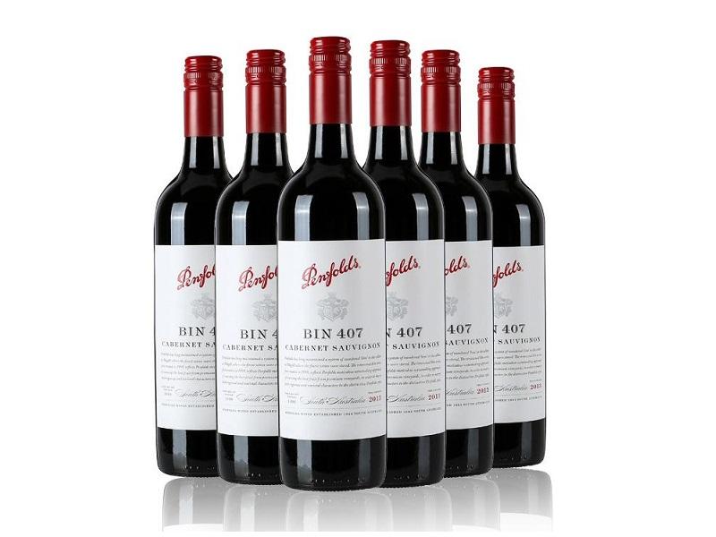 BIN407干红葡萄酒