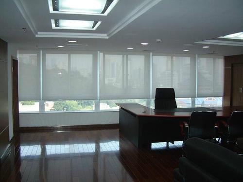 辦公室窗簾生產廠家-西安辦公遮陽窗簾安裝