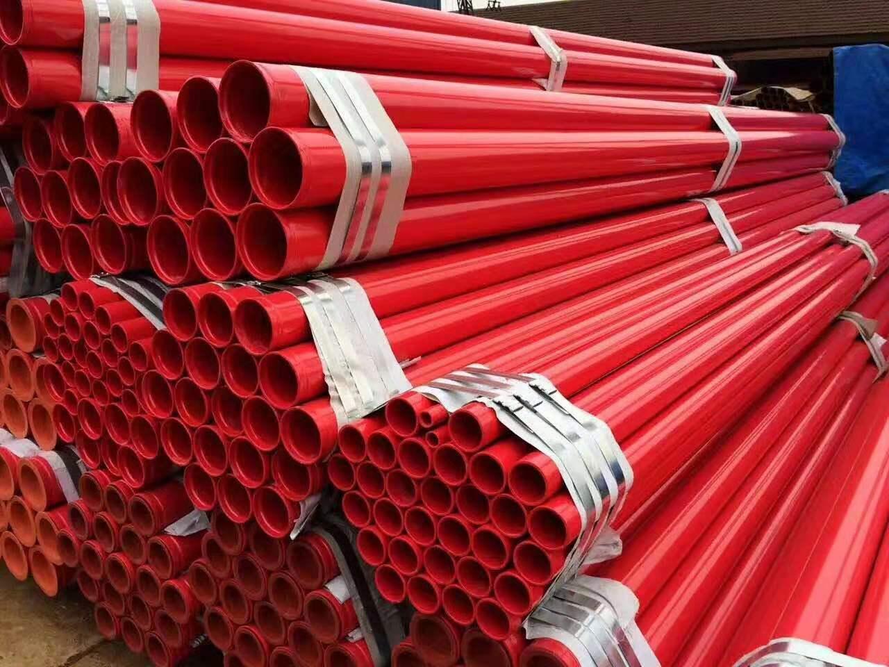 消防用涂塑螺旋管厂家-可靠的消防涂塑复合钢管格