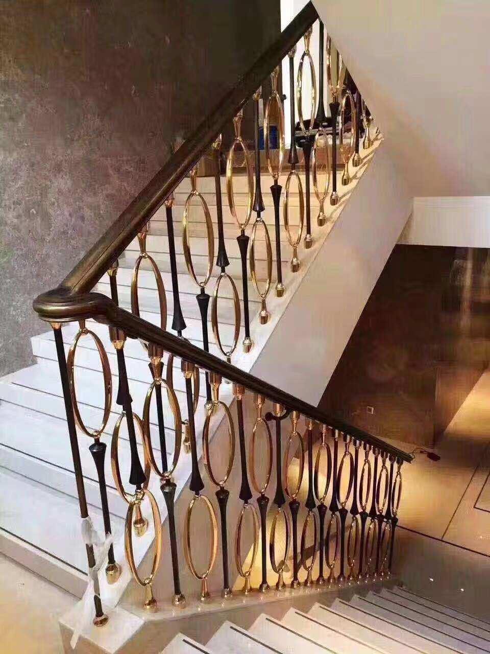 廣東樓梯扶手_品質好的輕奢單支護欄肇慶點致梯藝金屬制品供應