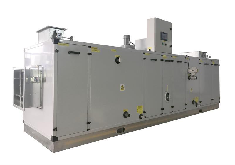 杭州鋰電低溫轉輪除濕機組專業品質_南岸轉輪除濕機組整體設計方案