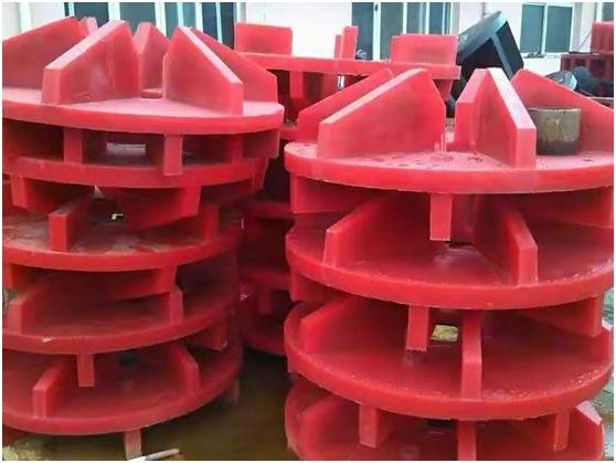 內蒙古浮選機轉子廠家-浮選機轉子價格-科奧橡塑