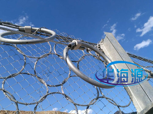 環形纏繞型邊坡被動網-15131856266護坡被動攔石網