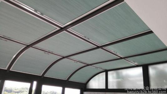 玻璃顶遮阳设计安装-山东价位合理的玻璃顶遮阳帘哪里有供应