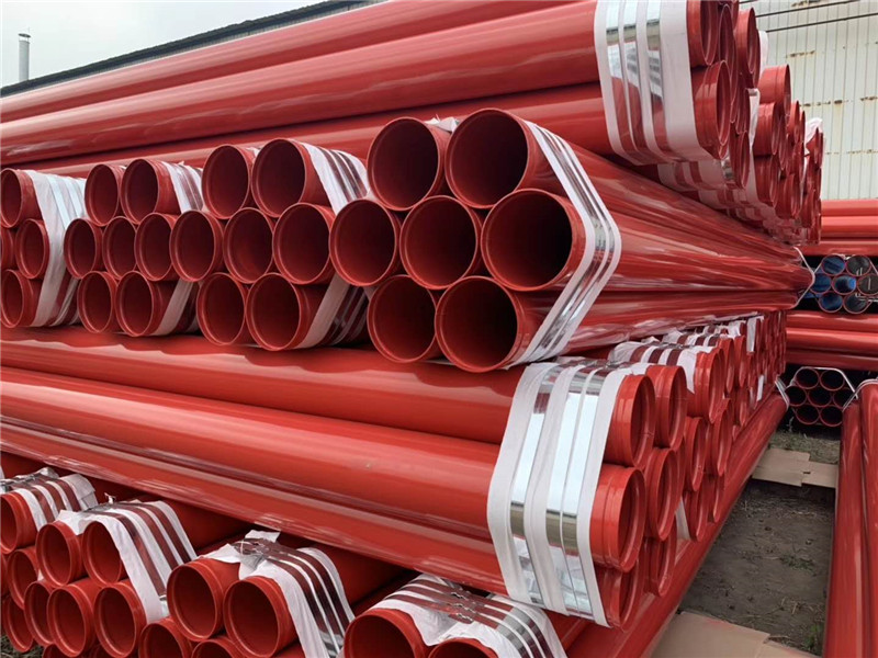 涂塑钢管公司-供应沧州友诚管业物超所值的消防涂塑钢管