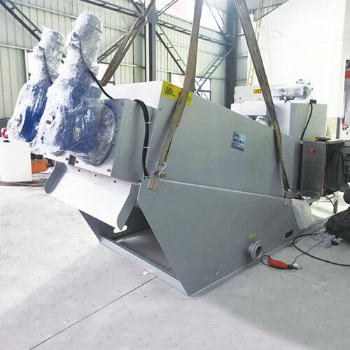 疊螺式污泥脫水機廠家直銷無錫哪里有賣優惠的疊螺式污泥脫水機