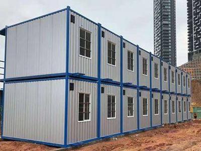 白銀集裝箱廠家-蘭州哪有賣口碑好的住人集裝箱