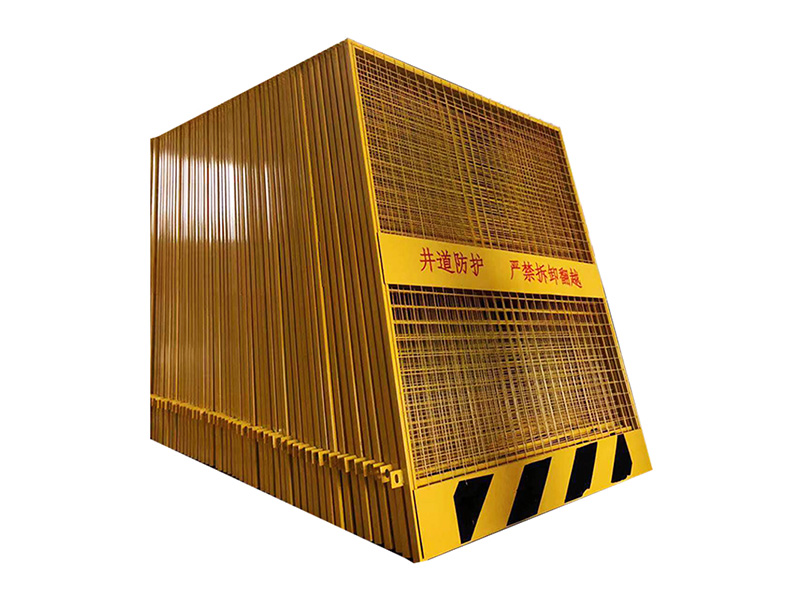 厂家供应安全防护门-四川哪里可以买到价格适中的建筑工地基坑护栏