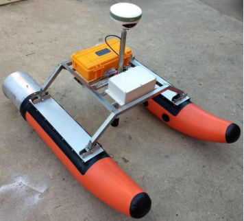 原生代供应专业测量淡水的无人船