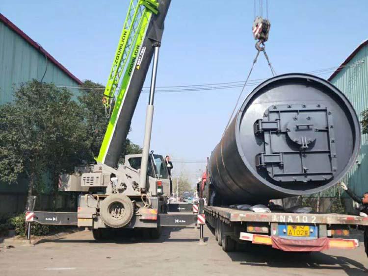 油田固體廢棄物處理-鐘鳴環保設備_信譽好的環保油泥裂解設備提供商