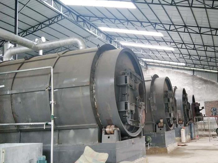 污油泥煉油技術-大量供應高質量的環保油泥裂解設備