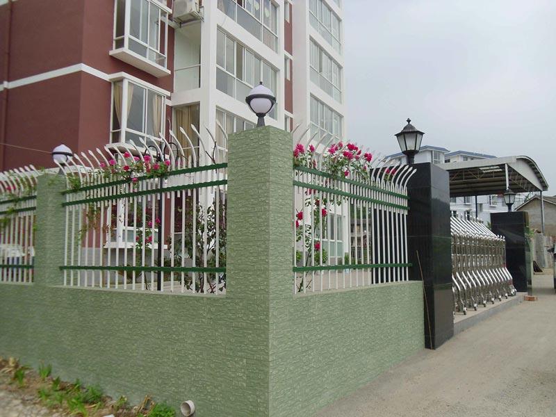带弯围墙护栏