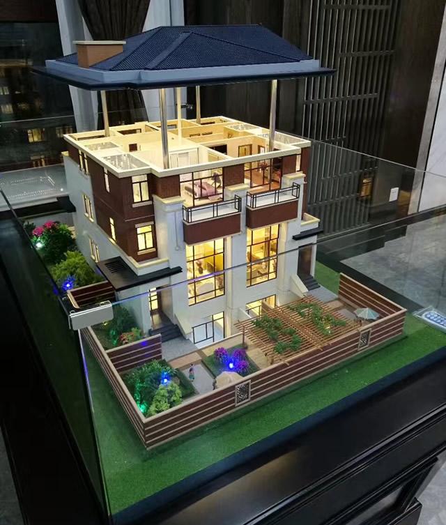 南通專業的別墅模型設計制作-嘉興別墅建筑模型制作