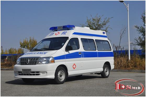 救護車供應商助力疫情防控_哪里有銷售專業的金杯高頂豪華監護型救護車
