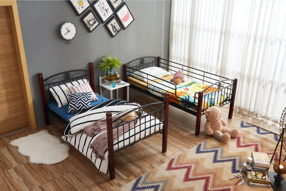 上下床供应厂家-佛山划算的527钢木双层床-认准迪泰家具