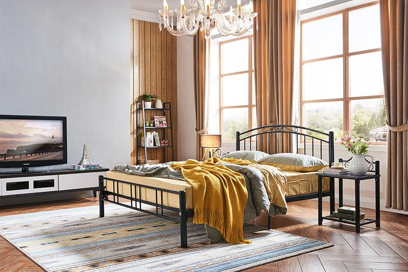公寓铁艺床