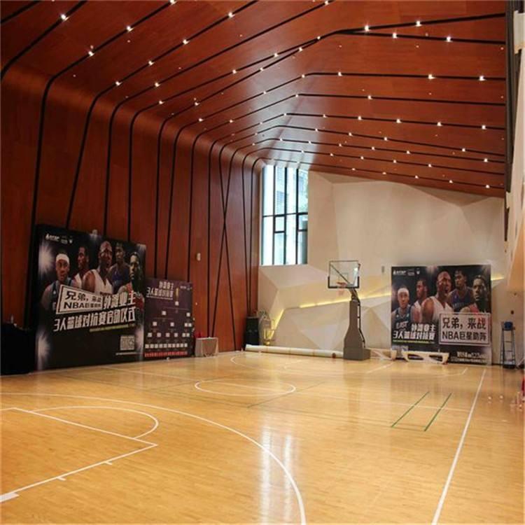 体育场馆地板选择丽和景装饰材料!是您不错的选择!
