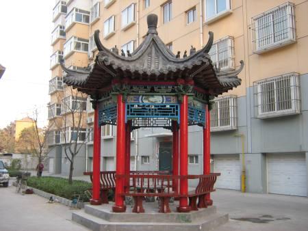 青岛现代凉亭-好用的仿古建筑凉亭丰艺景观园林供应