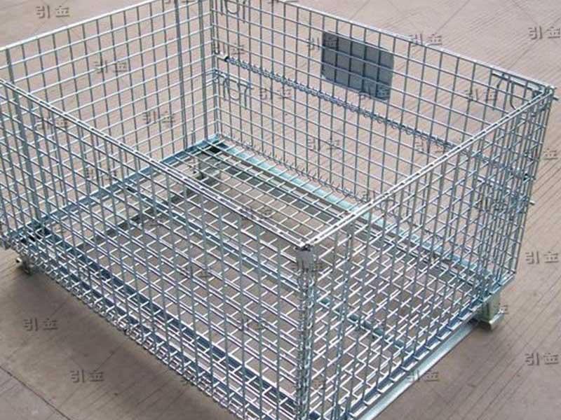 城阳仓储笼就到青岛引金公司|胶州折叠式仓储笼价格