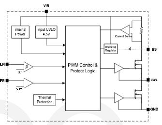 寶安區DIO54270專用于工業控制降壓芯片具有高效同步模式