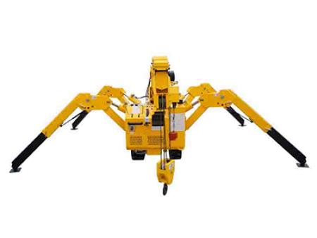 蜘蛛吊车价格_元源混凝土物超所值的微型履带吊机出售