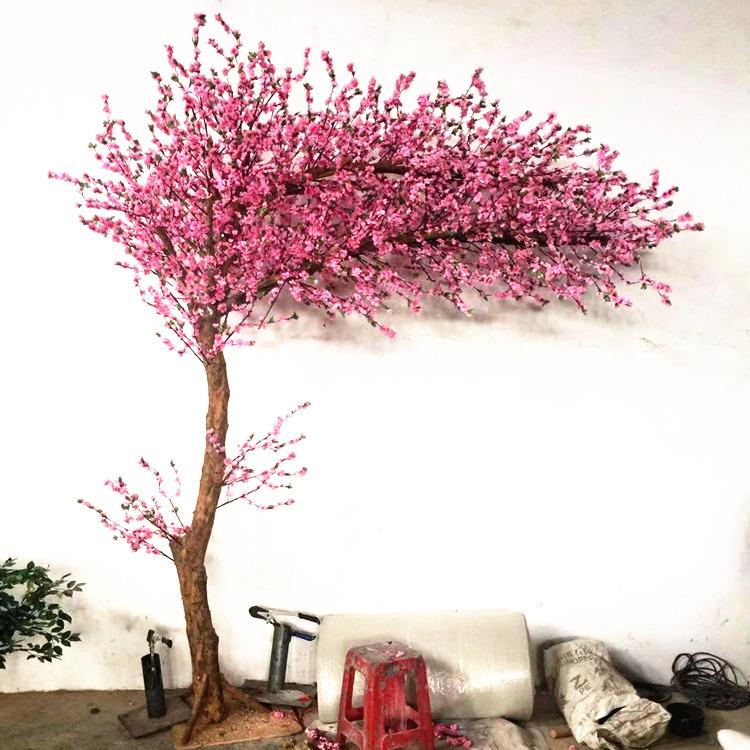 劃算的仿真桃花樹哪里有 仿真許愿樹廠家