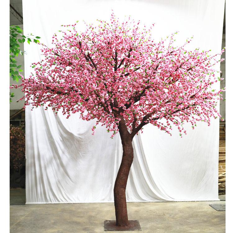 仿真許愿樹價格 廣州市盛庭有品質的仿真桃花樹出售