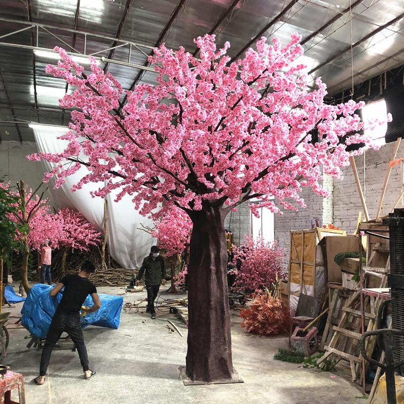 仿真桃花价格|广州声誉好的仿真桃花树供货商推荐